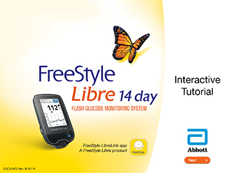 FreeStyle Libre 14 Day System Interactive Tutorial