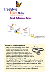 Download the FreeStyle Libre User's Manual